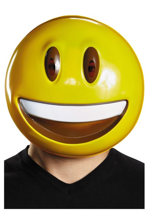 Adult Emoticon Smile Mask