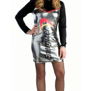 Adult Energizer Battery Dress