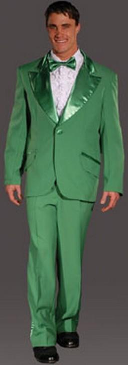 Adult Entertainer Tuxedo Costume - Sage