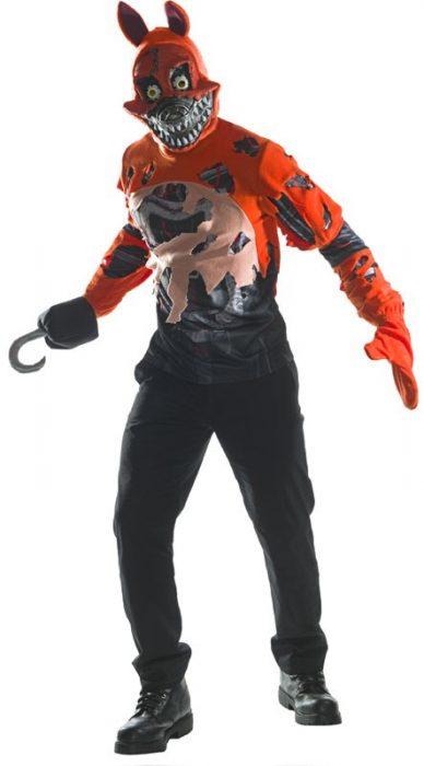 Adult FNAF Nightmare Foxy Costume