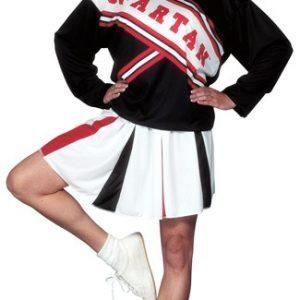 Adult Female Spartan Cheerleader Costume