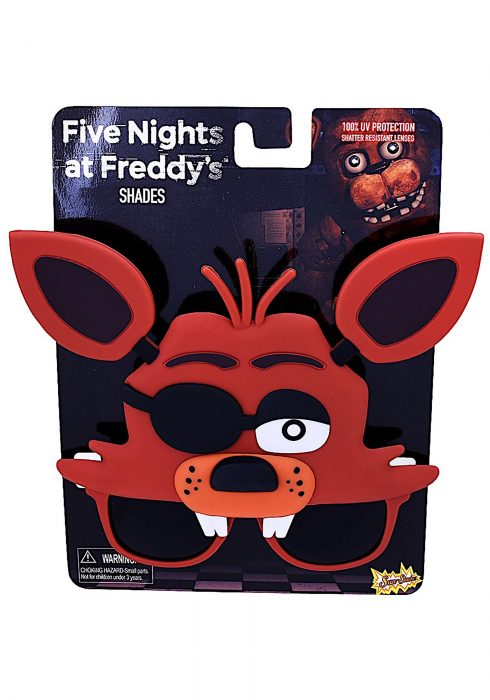 Adult Five Nights at Freddy's Foxy Sunglasses