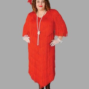 Adult Flapper Costume ? Red
