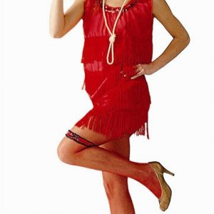 Adult Flapper Halloween Costume
