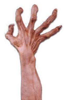 Adult Flesh Monster Costume Gloves