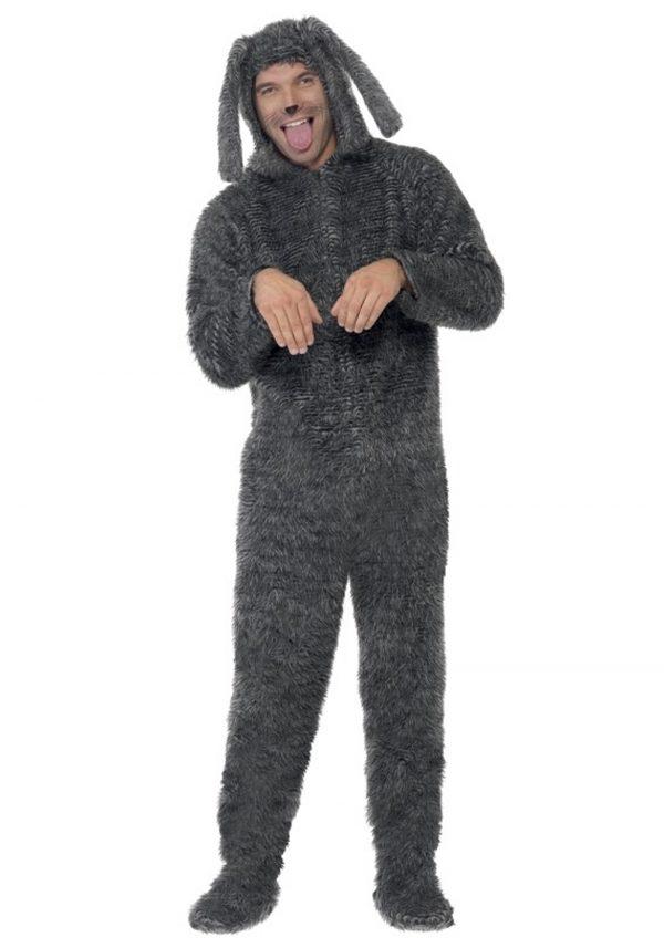 Adult Fluffy Dog Costume