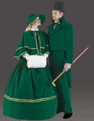 Adult Forest Caroler Costume