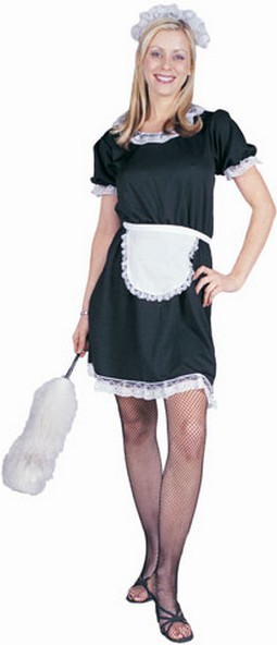 Adult French Maid Halloween Costume