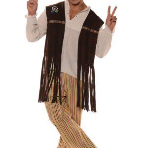 Adult Fringe Hippie Vest