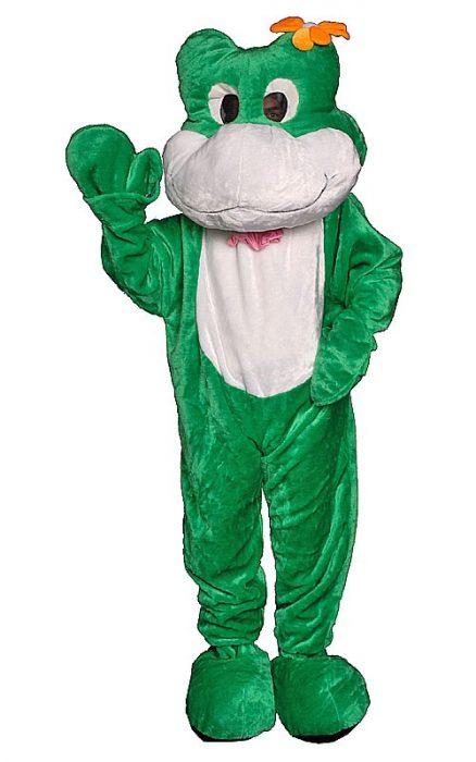 Adult Frog Mascot