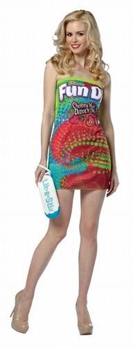 Adult Fun Dip Costume Dress
