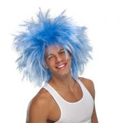 Adult Funky Blue Wig