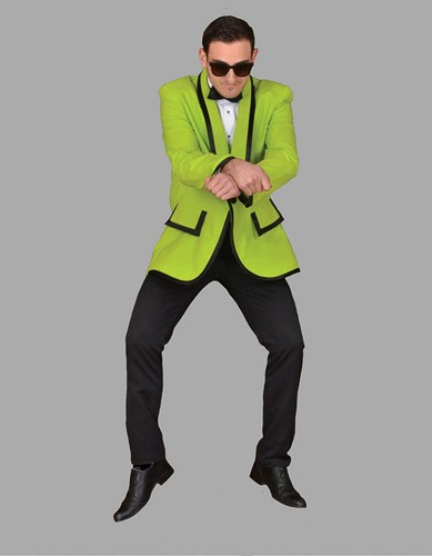 Adult Gangnam Style Costume ? Green