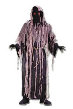 Adult Gauze with Flashing Eyes Zombie Costume