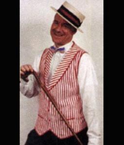 Adult Gay Nineties Costume Vest
