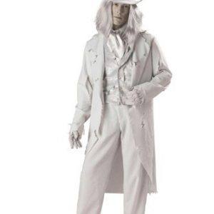 Adult Ghost Costume - Ghostly Gent