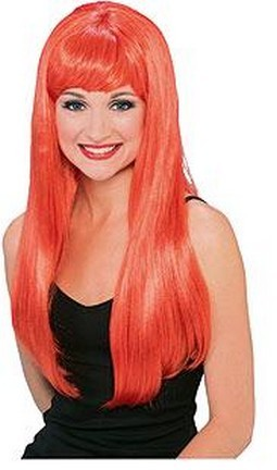Adult Glamour Long Red Wig