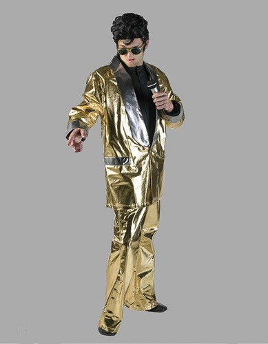 Adult Gold Lame Costume