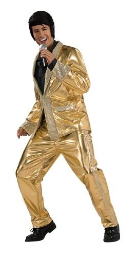 Adult Gold Lame Suit