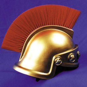 Adult Gold Spartan Helmet