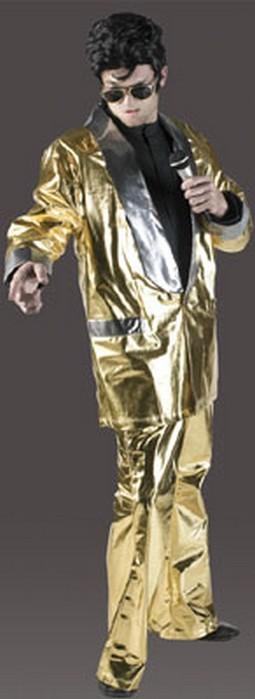 Adult Golden Rock King Suit Costume