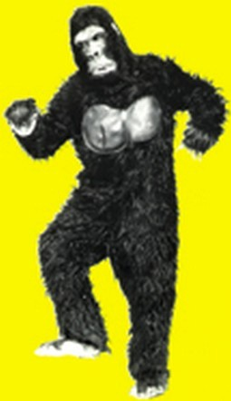 Adult Gorilla Costume Head and Body