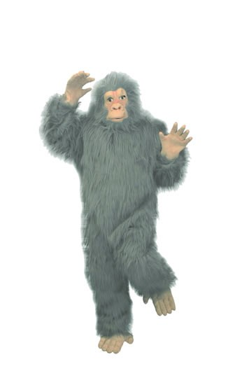 Adult Gray Gorilla Costume