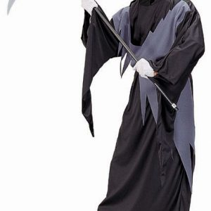 Adult Gray Grim Reaper Costume