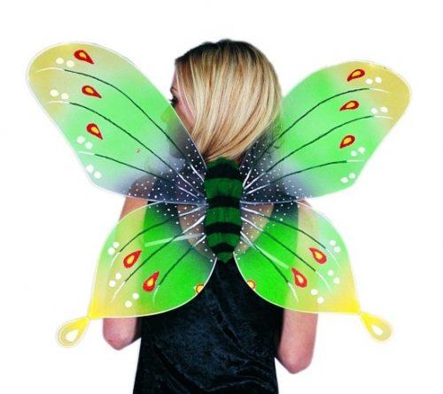 Adult Green Butterfly Wings