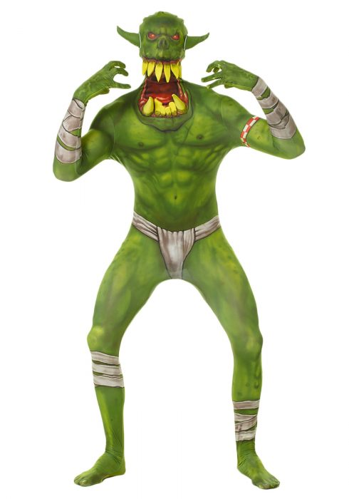 Adult Green Orc Morphsuit