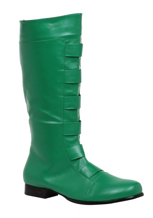 Adult Green Superhero Boots