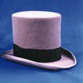Adult Grey Top Hat