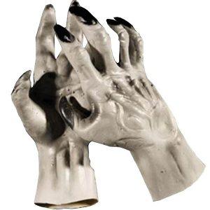 Adult Grey Werewolf Hands Gloves Accessory