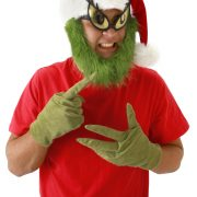 Adult Grinch Gloves