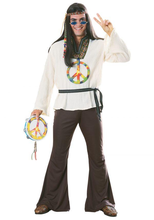 Adult Groovy Hippie Costume