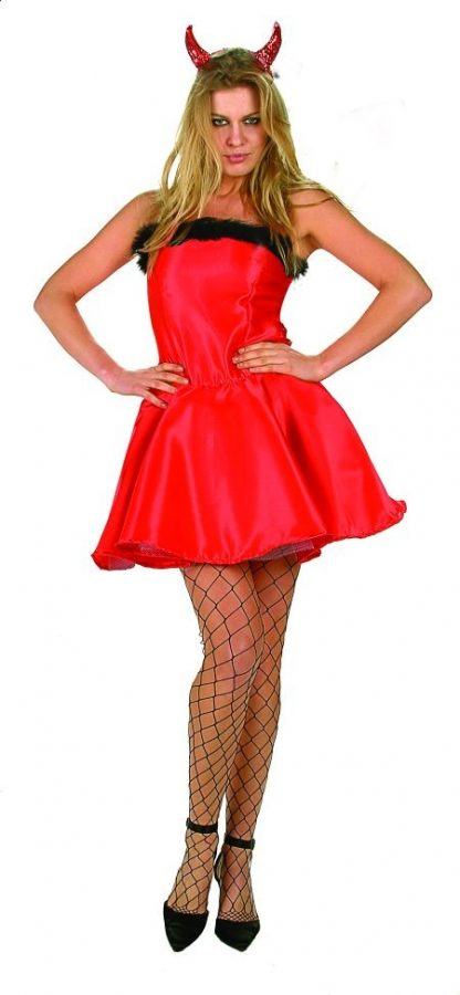 Adult Halloween Devil Costume