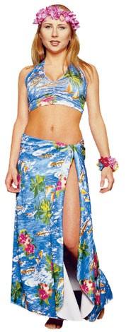 Adult Hawaiian Girl Costume