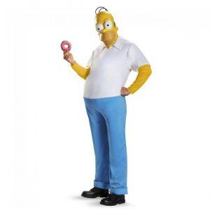 Adult Homer Simpson Costume