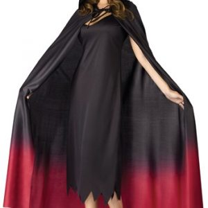 Adult Hooded Ombre Vampire Cape