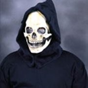 Adult Hooded Skull Mask