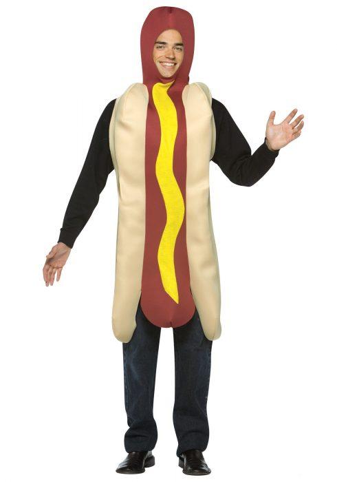 Adult Hot Dog Costume