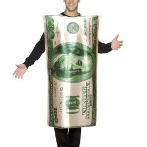 Adult Hundred Dollar Bill Costume