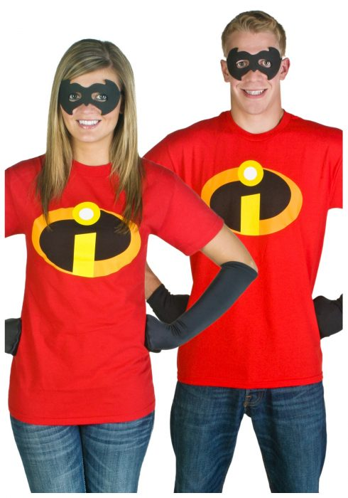 Adult Incredibles T-Shirt Costume