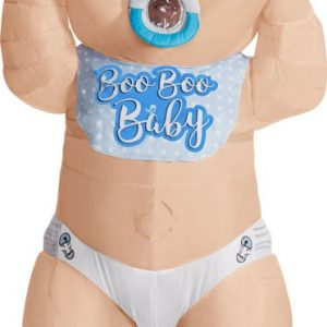 Adult Inflatable Baby Boy Costume