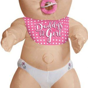 Adult Inflatable Baby Girl Costume