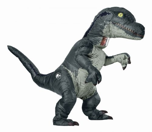 Adult Inflatable Velociraptor Dinosaur Costume
