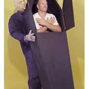 Adult Inside Coffin Illusion Costume