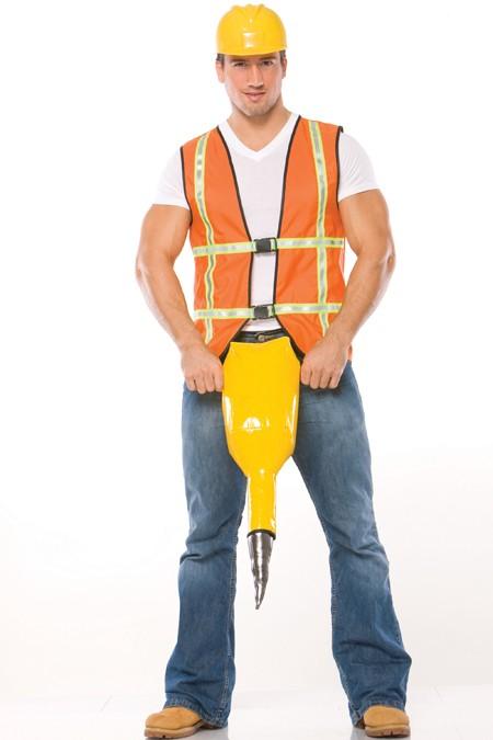 Adult Jack Hammer Costume