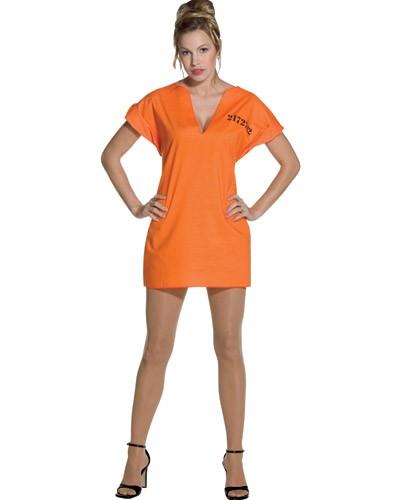 Adult Jailhouse Dress Costume - Female