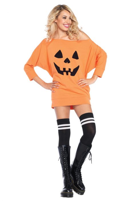 Adult Jersey Pumpkin Dress